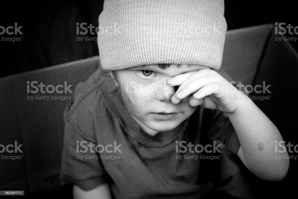 Homeless series stock photo