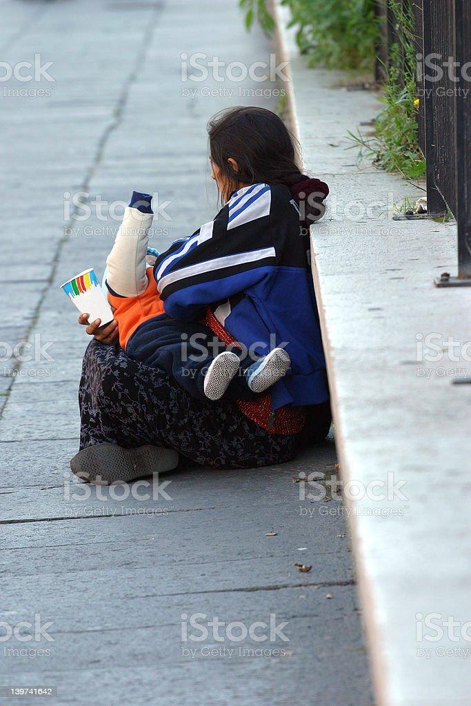 homelessness royalty-free stock photo