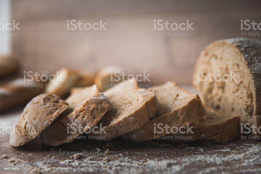 Homemade and tasty stock photo