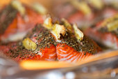 Homemade Bake Salmon