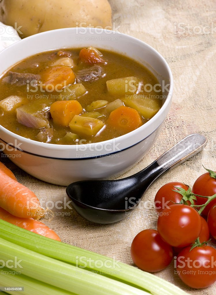 Homemade Beef Stew 005 royalty-free stock photo