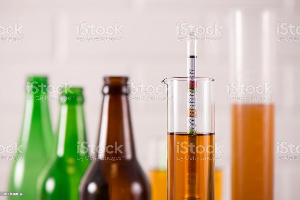 Homemade Beer. stock photo