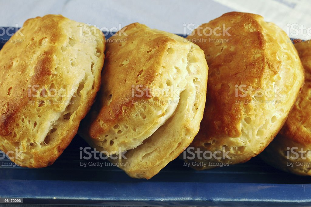 Homemade Biscuits royalty-free stock photo
