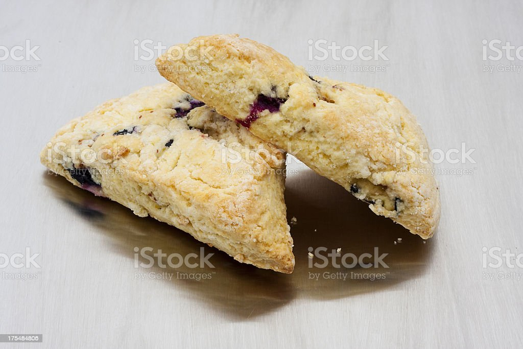 Homemade Blueberry Scones stock photo