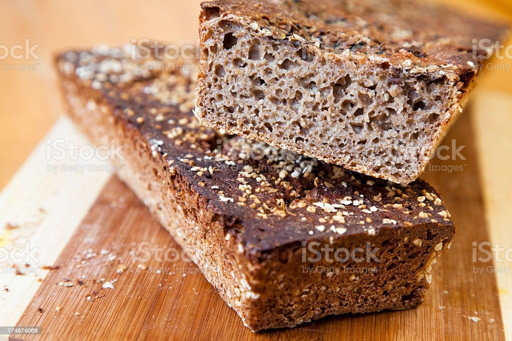 Homemade bread stock photo