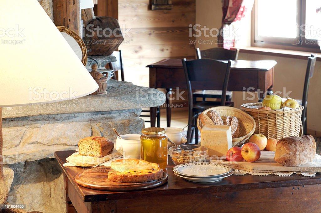 homemade breakfast royalty-free stock photo