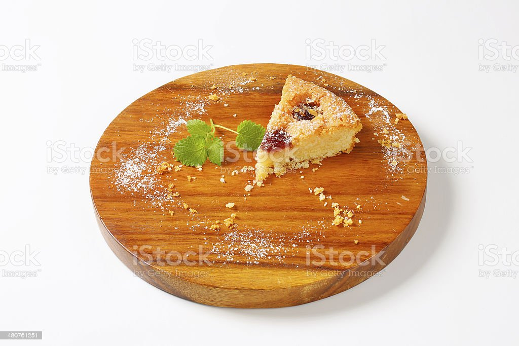 Homemade cherry pie royalty-free stock photo