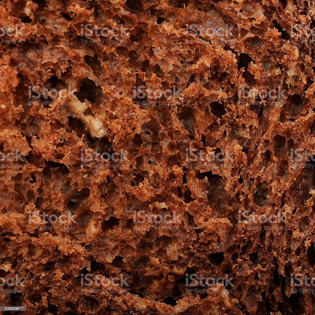 Homemade chocolate panettone texture macro stock photo