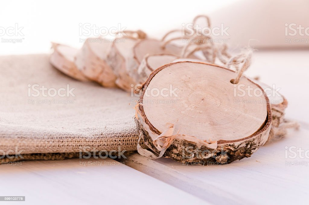 Homemade christmas decoration ready for making ornaments stock photo