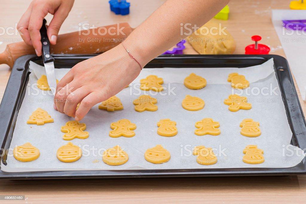 Homemade cookies. stock photo