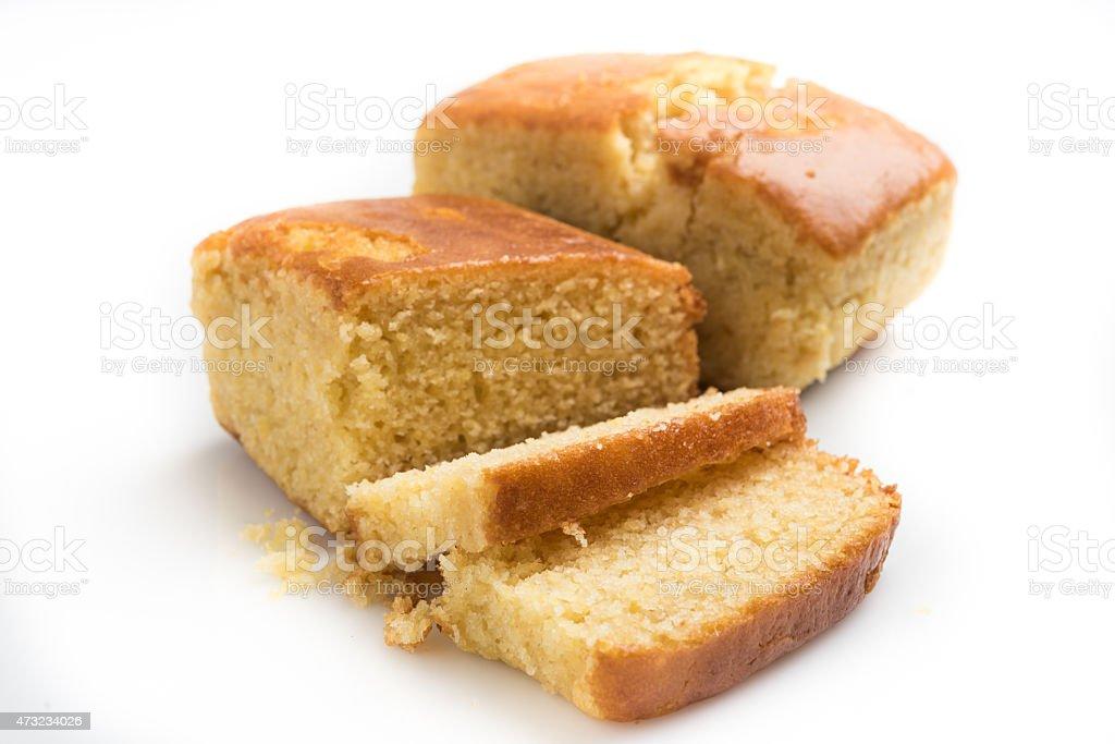 Homemade Corn Bread stock photo