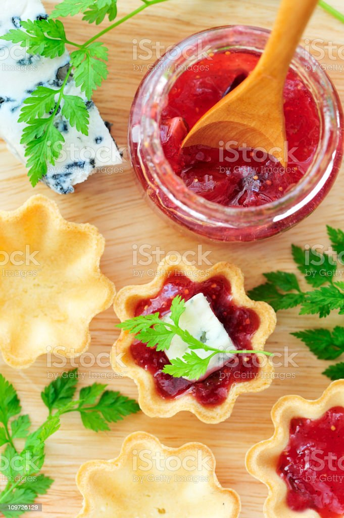 Homemade Fig Jam royalty-free stock photo