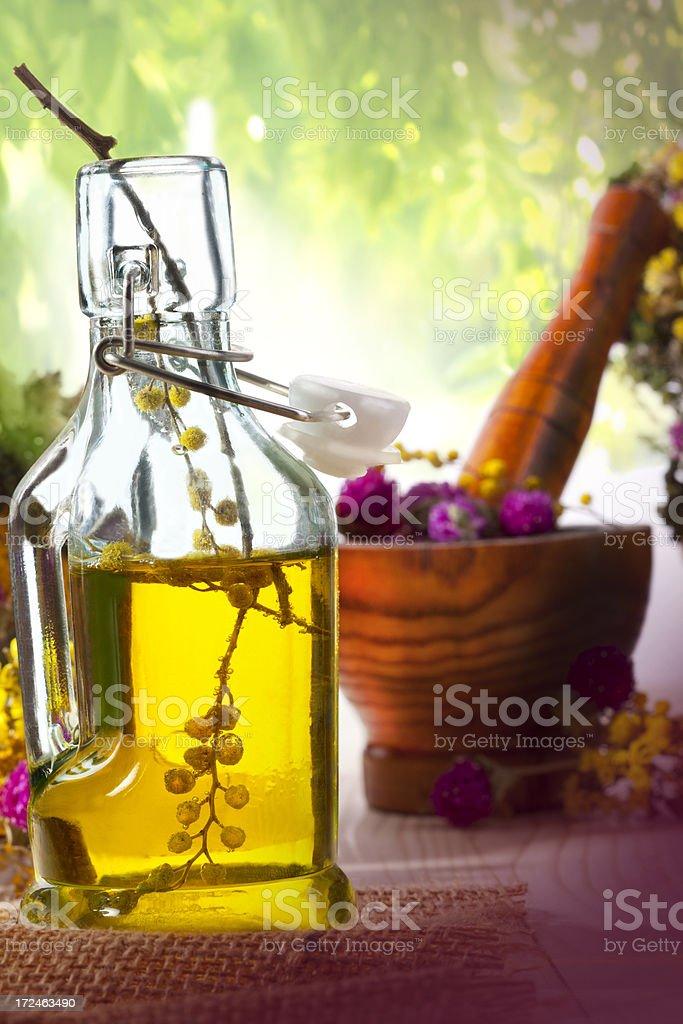 Homemade flower essence royalty-free stock photo