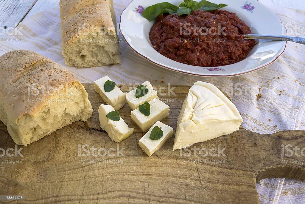 Homemade food royalty-free stock photo
