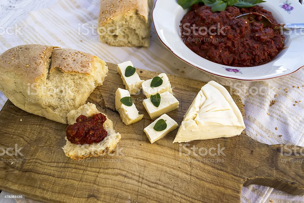 Homemade food royalty-free stock photo