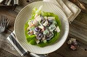 Homemade Fresh Waldorf Salad