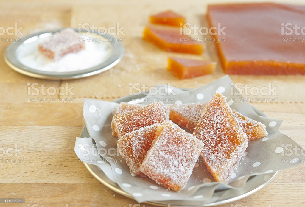 Homemade fruit candy royalty-free stock photo