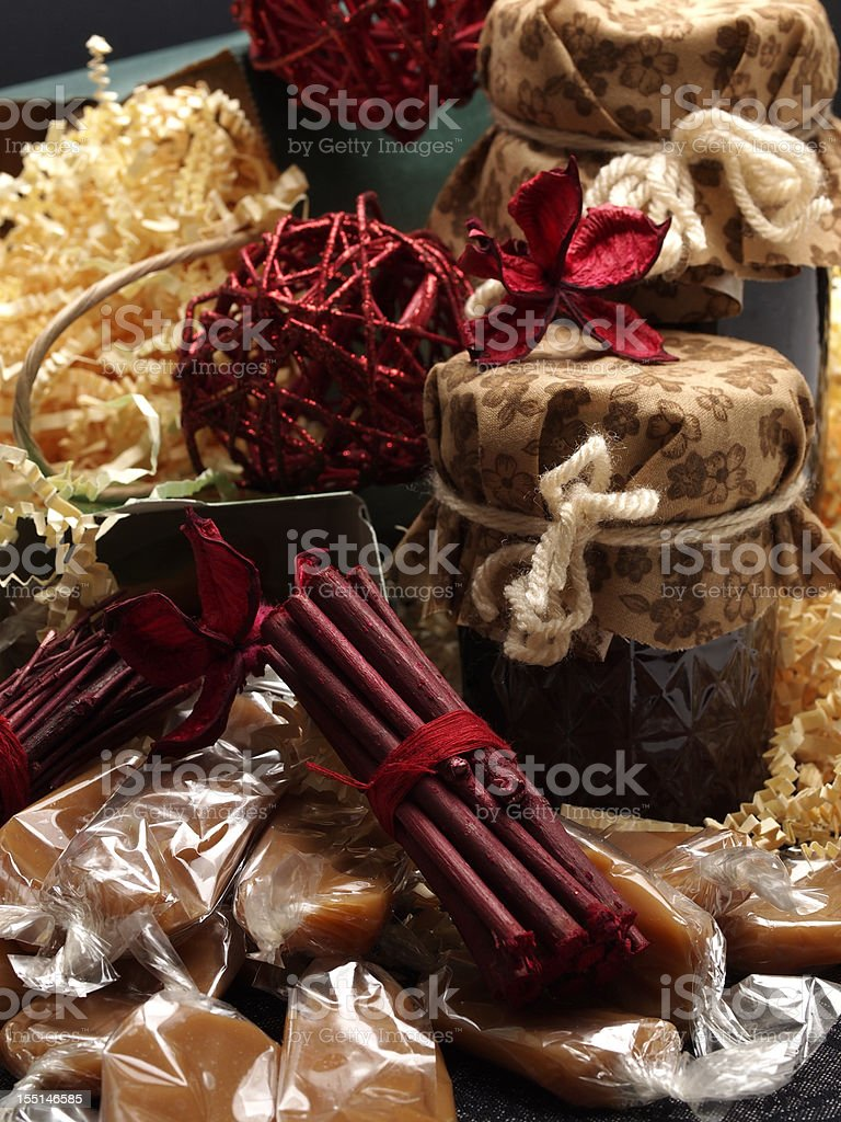 Homemade Gifts royalty-free stock photo