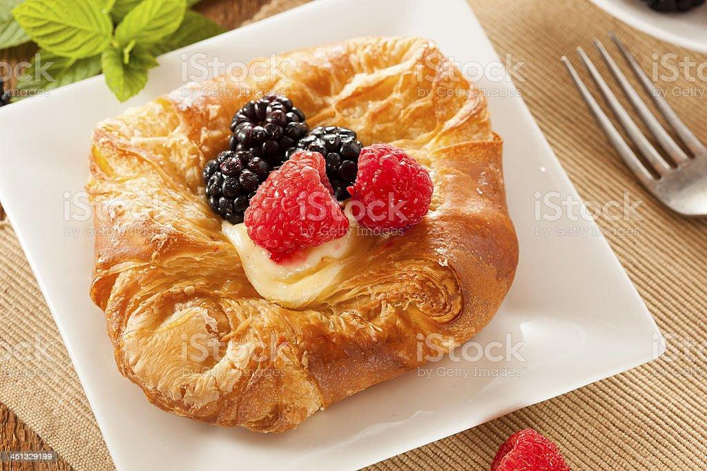 Homemade Gourmet Danish Pastry royalty-free stock photo