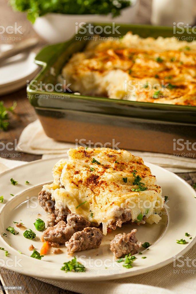 Homemade Irish Shepherd's Pie stock photo