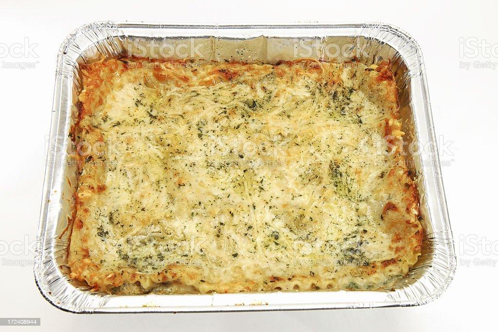 Homemade Lasagna 1 royalty-free stock photo