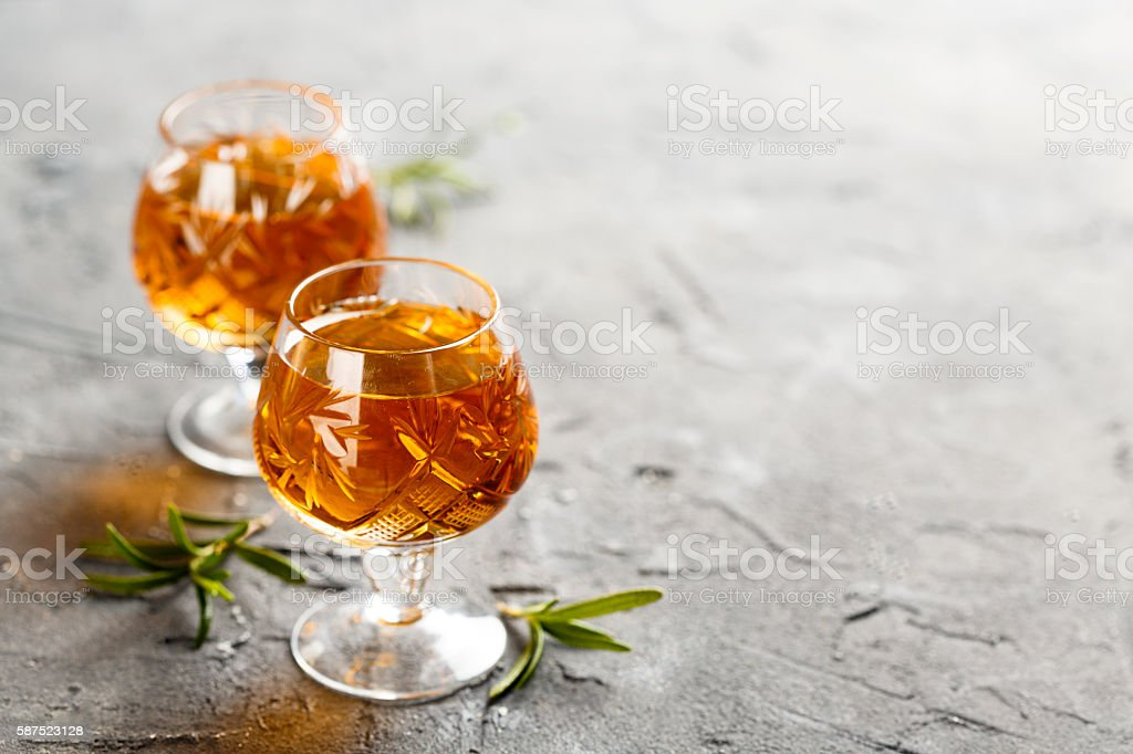 Homemade liquor stock photo