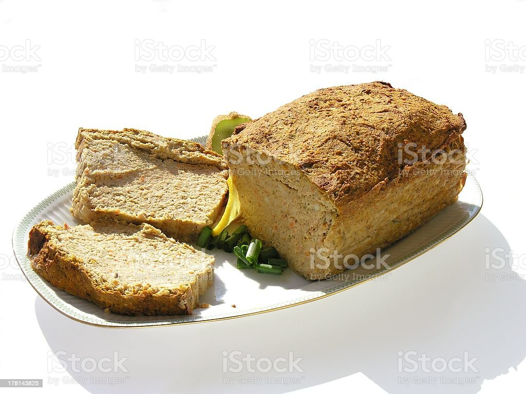 homemade meat-pie royalty-free stock photo