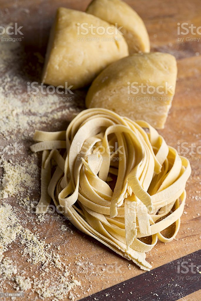 Homemade Pasta royalty-free stock photo