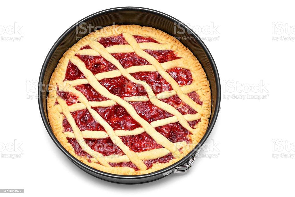 Homemade Pie royalty-free stock photo