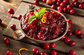 Homemade Red Cranberry Sauce