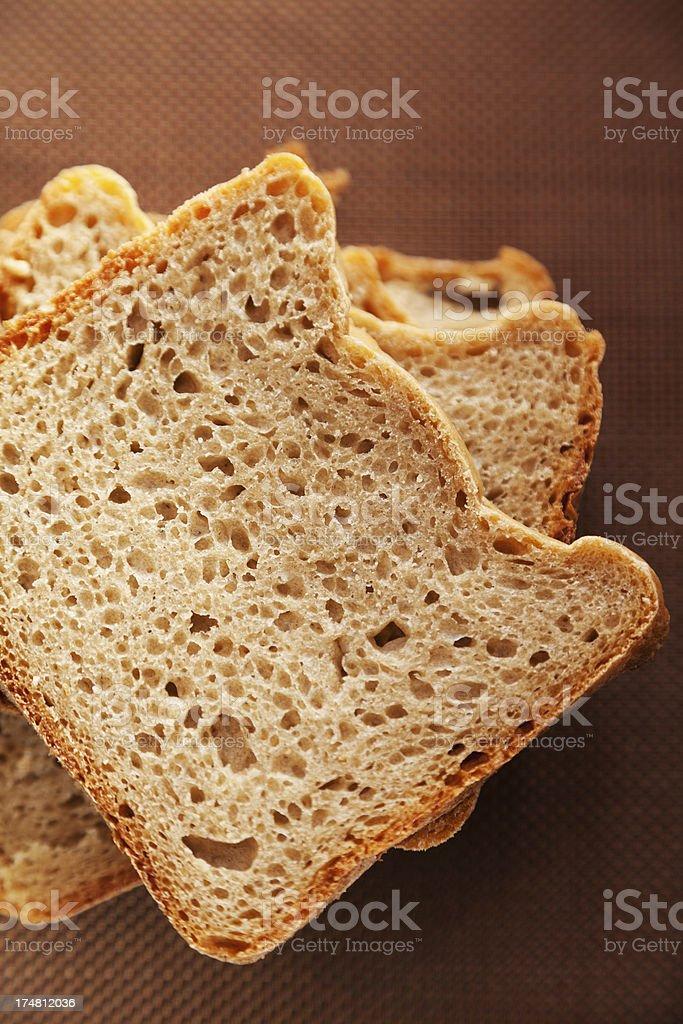 Homemade rye bread royalty-free stock photo