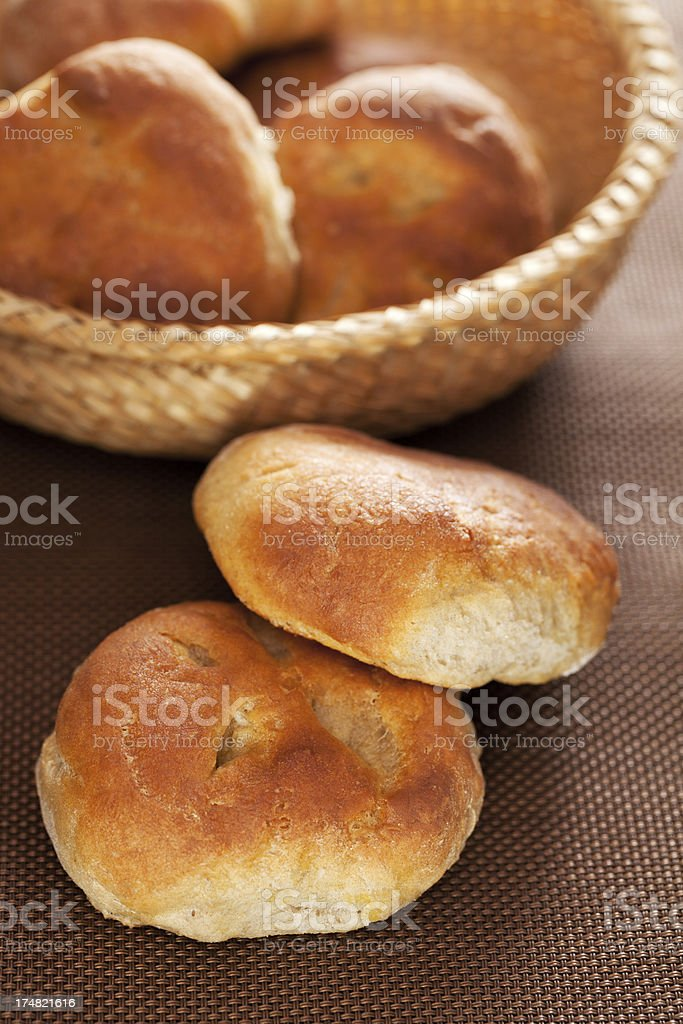 Homemade small breads royalty-free stock photo