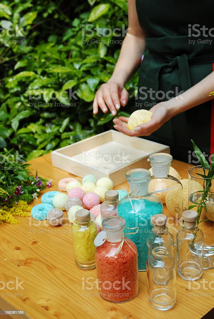 Homemade  Spa Products royalty-free stock photo