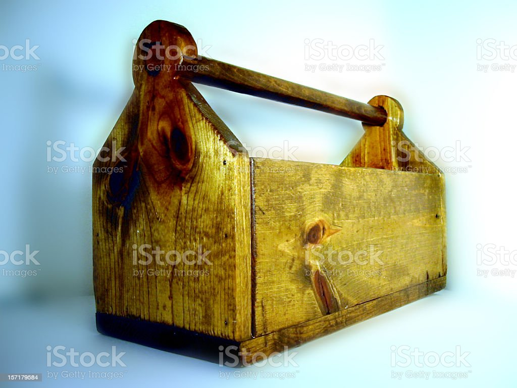 Home-made toolbox royalty-free stock photo