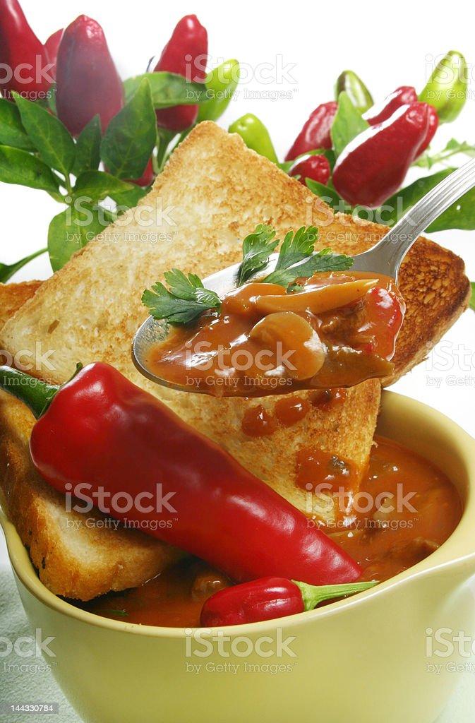Homemade Vegetable Soup stock photo