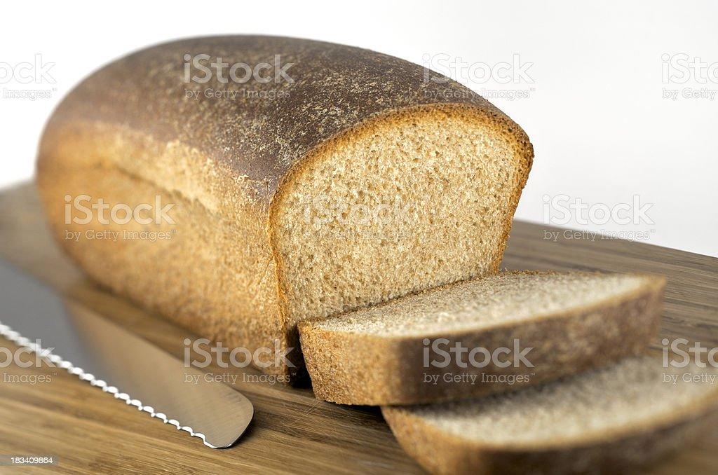 Homemade Whole Wheat Bread royalty-free stock photo