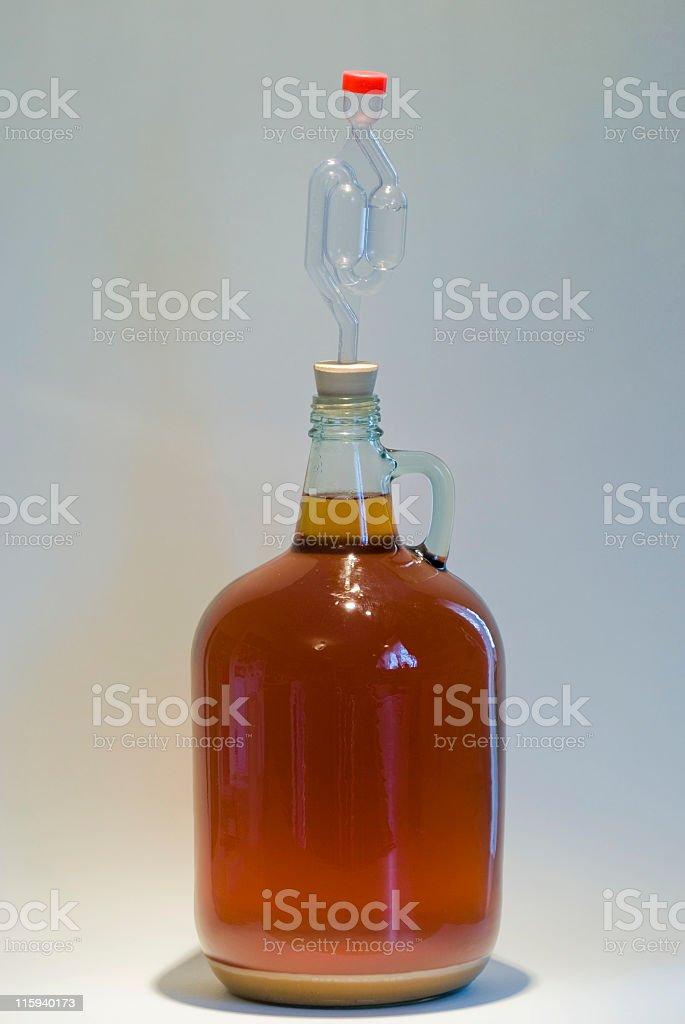 Homemade Wine stock photo