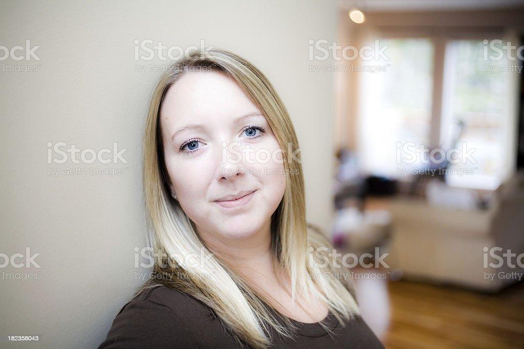 Homemaker royalty-free stock photo