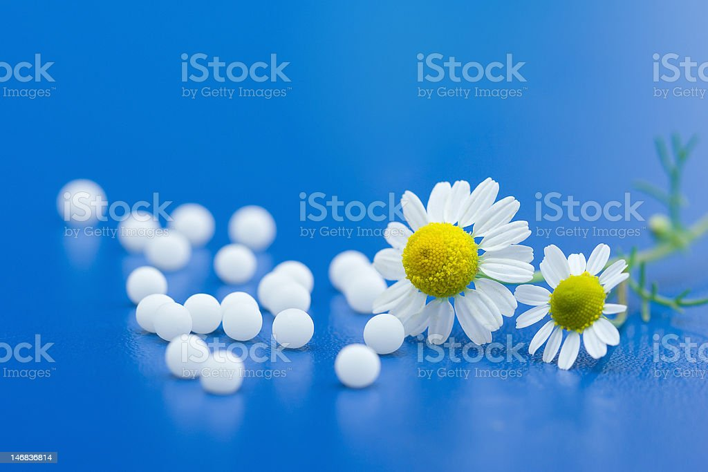 Homeopathic medication royalty-free stock photo