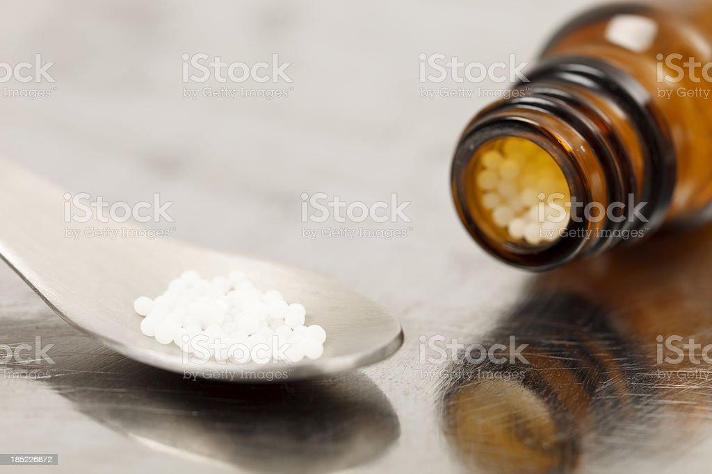 Homeopathic medicine stock photo