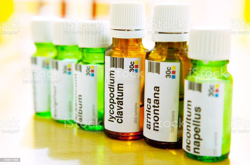 Homeopathic Medicine: Remedies stock photo