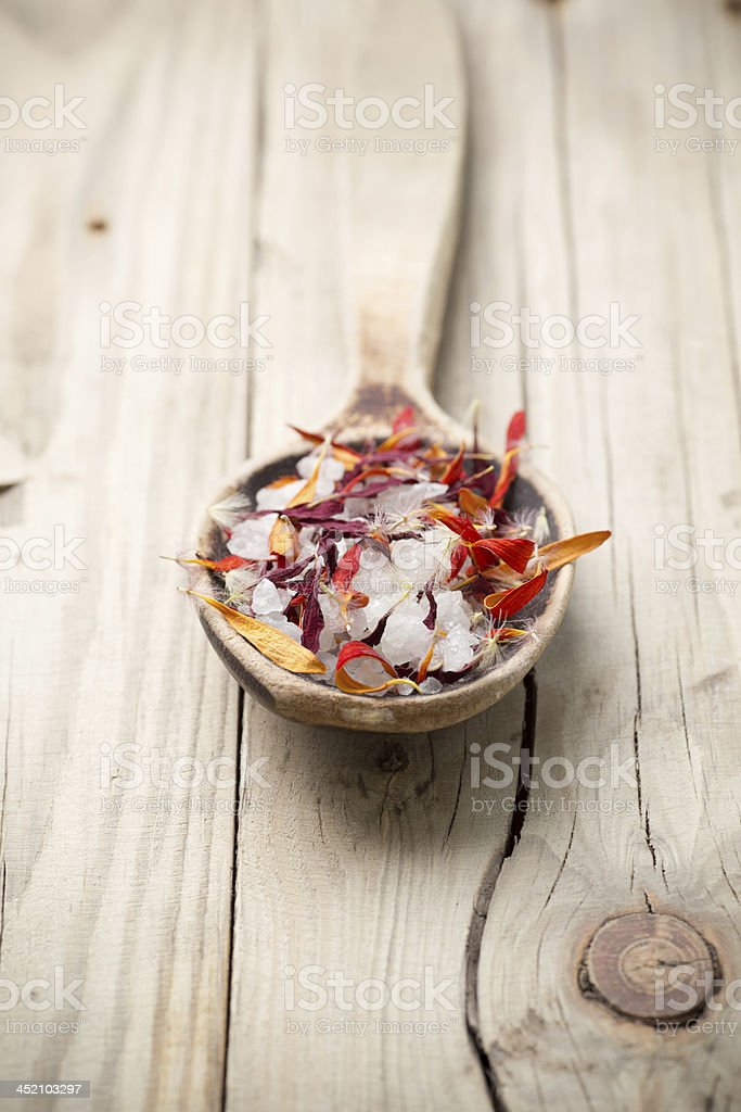 Homeopathic spa. stock photo