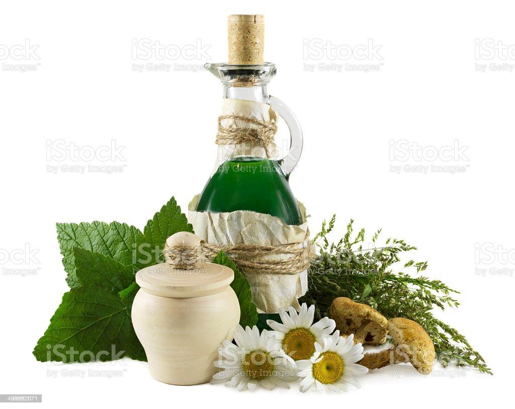 Homeopathic still life stock photo