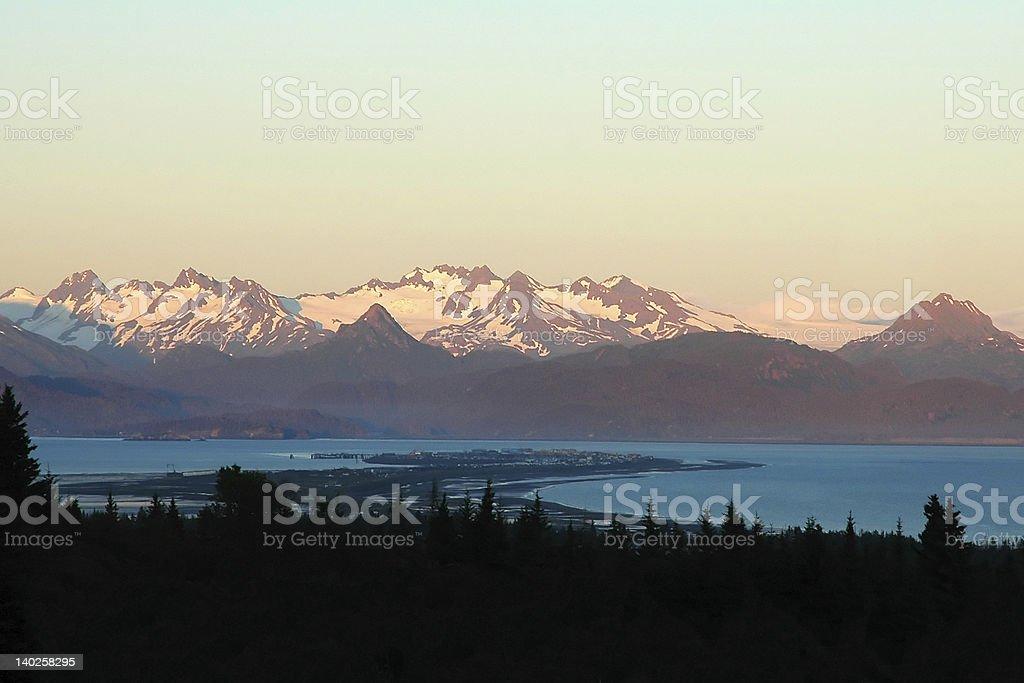 Homer Peninsula royalty-free stock photo