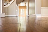 Homes and Architecture:  Lovely wooden flooring in home.