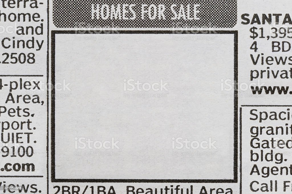 Homes for Sale II royalty-free stock photo