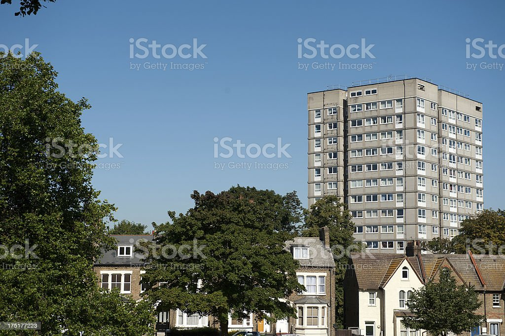 Homes In Plumstead stock photo