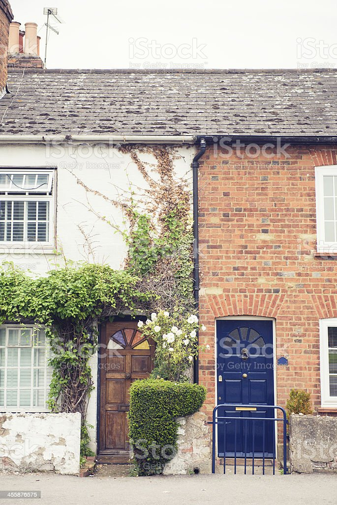 Homes in Surrey England royalty-free stock photo