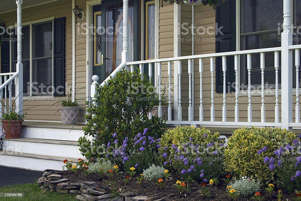 Homes - Inviting Entrance II royalty-free stock photo