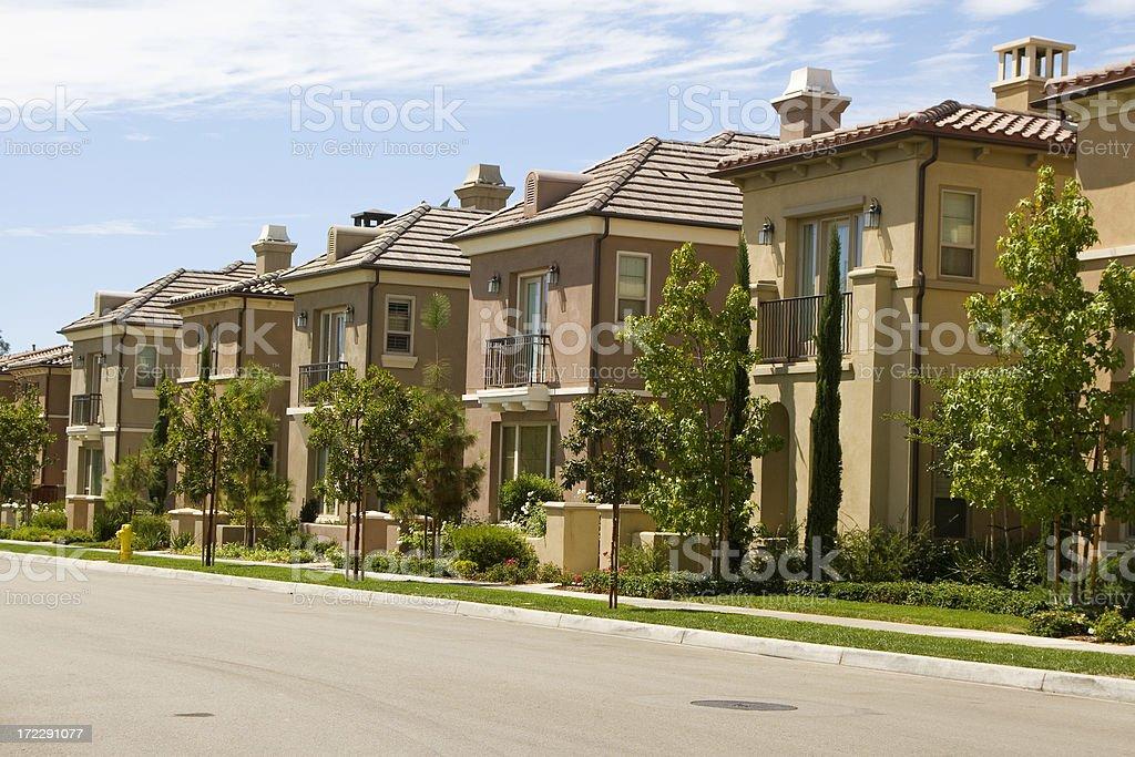 homes - Orange County stock photo